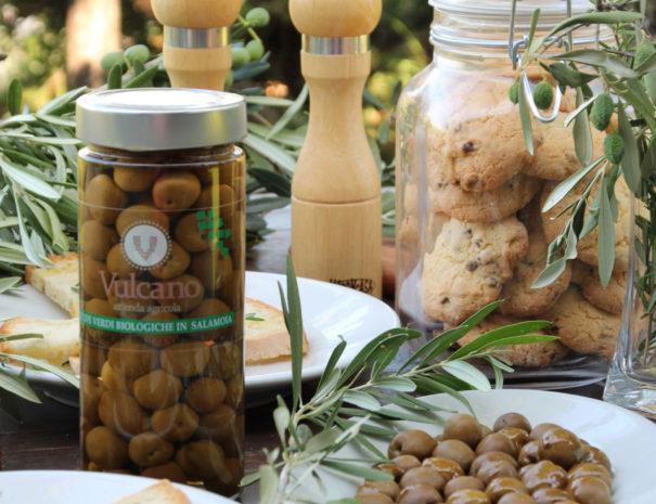 ricetta biscotti all'olio di oliva Vulcano