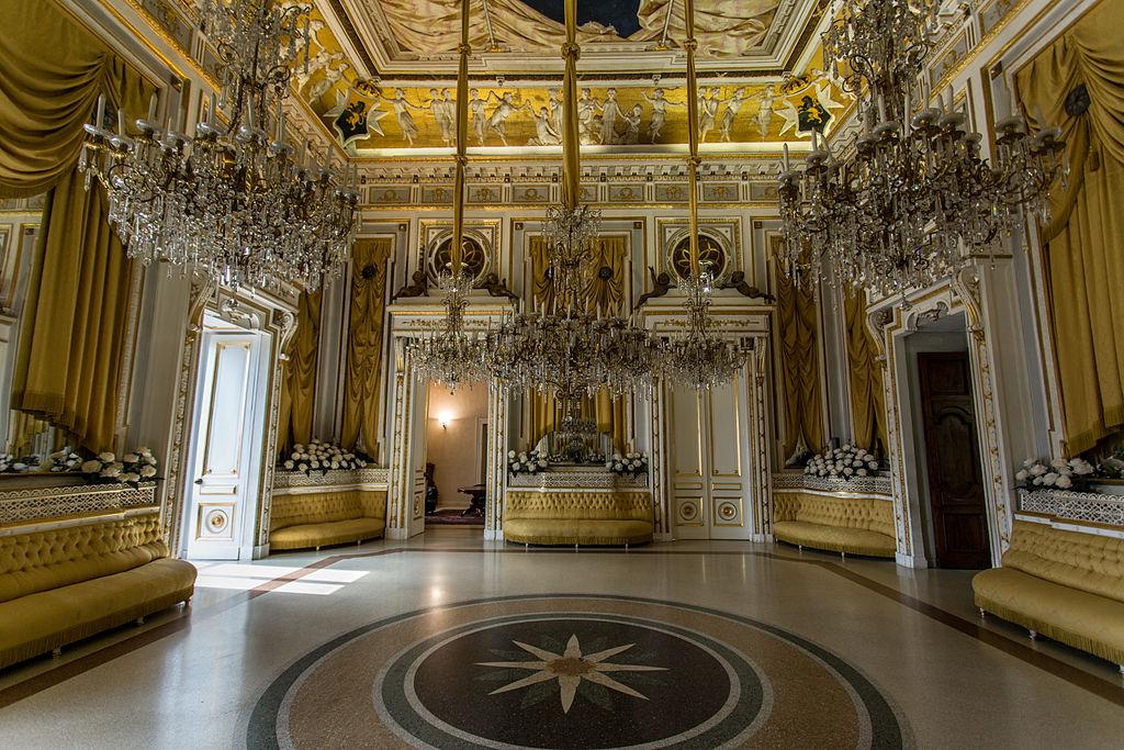 Castello di Corigliano interno