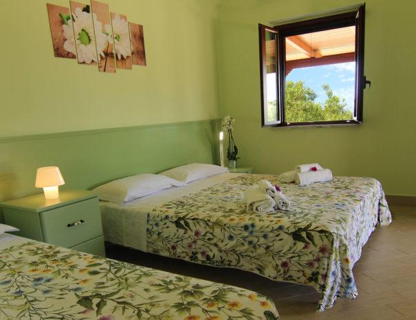 casa-dolce-rossano-camera-verde